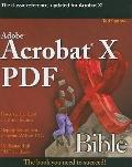 Adobe Acrobat X PDF Bible