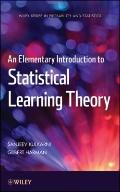 An Introduction to Elementary Statistical Learning Theory (Wiley Series in Probability and S...