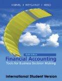 Financial Accounting, International Student Version: Tools for Business Decision Making