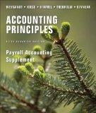 Payroll Accounting Supplement to accompany Accounting Principles