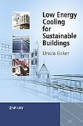 Low Energy Cooling for Sustainable Buildings