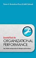 Essential Tools for Organisational Performance: Tools, Models and Approaches for Managers an...