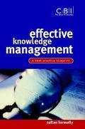 Effective Knowledge Management A Best Practice Blueprint