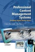 Professional Content Management System Handling Digital Media Assets