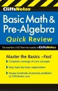 CliffsNotes Basic Math and Pre-Algebra Quick Review (Cliffs Notes)