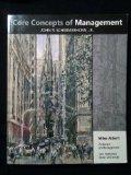Core Concepts of Management (Custom Edition for San Francisco State University)