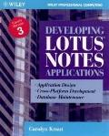 Developing Lotus Notes Applications
