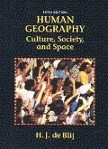 Human Geography-text