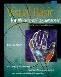 Visual Basic for Windows 95 Insider - Peter G. Aitken - Paperback - BOOK&DISK
