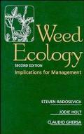 Weed Ecology Implications for Management