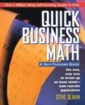 Quick Business Math A Self-Teaching Guide