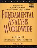 Fundamental Analysis Worldwide: Investing and Managing Money in International Capital Market...
