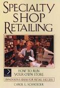 Speciality Shop Retailing