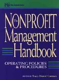 NonProfit Management Handbook: Operating Policies and Procedures