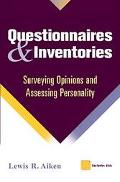 Questionnaires and Inventories Surveying Opinions and Assessing Personality
