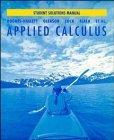 Applied Calculus for Business, Life, and Social Sciences, Student Solutions Manual
