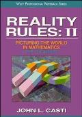 Reality Rules Picturing the World in Mathematics  The Frontier