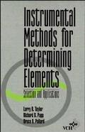 Instrumental Methods for Determining Elements