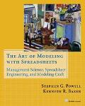 Art of Modeling With Spreadsheets Management Science, Spreadsheet Engineering, and Modeling ...