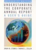 Understanding the Corporate Annual Report/Listening :The Home Depot Annual Report 2000 A Use...