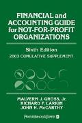 Financial and Accounting Guide for Not-For-Profit Organizations 2003 Cumulative Supplement