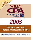 Wiley Cpa Examination Review 2003 Business Law and Professional Responsibilities