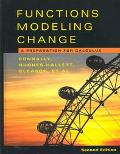 Functions Modeling Change A Preparation for Calculus