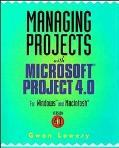 Managing Proj.w/microsoft Proj.4.0
