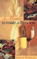 Master Dictionary of Food and Wine