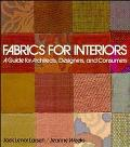 Fabrics for Interiors A Guide for Architects, Designers, and Consumers