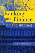 Banking and Finance on the Internet