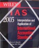 Wiley IAS 2003: Interpretation and Application of International Accounting Standards