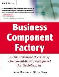 Business Components Factory A Comprehensive Overview of Component-Based Development for the ...