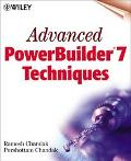Advanced Powerbuilder 7 Techniques
