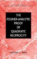 Fourier-Analytic Proof of Quadratic Reciprocity