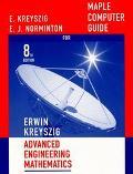 Advanced Engineering Mathematics Maple Computer Guide