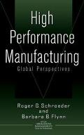High Performance Manufacturing Global Perspectives