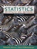 Statistics: Principles and Methods
