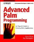 Advanced PalmTM Programming: Professional Developer's Guide - Steve Mann - Paperback - BK&CD...