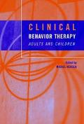 Clinical Behavior Therapy Adults and Children