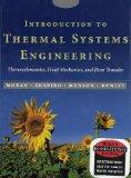 Introduction to Thermal Systems Engineering: Thermodynamics, Fluid Mechanics, and Heat Trans...