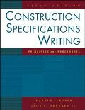 Construction Specifications Writing Principles And Procedures