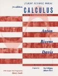 Calculus Early Transcendentals Brief Version, Student Resource Manual
