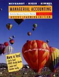 Managerial Accounting Tools for Business Decision Making, Active Learning Edition