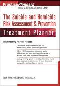Suicide and Homicide Risk Assessment & Prevention Treatment Planner