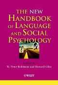 New Handbook of Language and Social Psychology