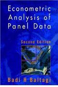 Econometric Analysis of Panal Data