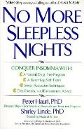 No More Sleepless Nights - Peter J. Hauri - Paperback