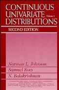 Continuous Univariate Distributions