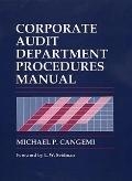 Corporate Audit Department Procedures Manual